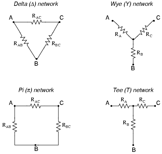 -Y and Y- conversions : DC NETWORK ANALYSIS