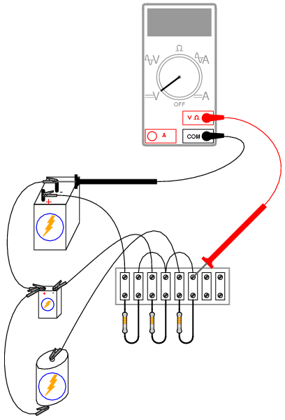 A very simple computer : DC CIRCUITS