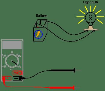 Basic ammeter use : Worksheet