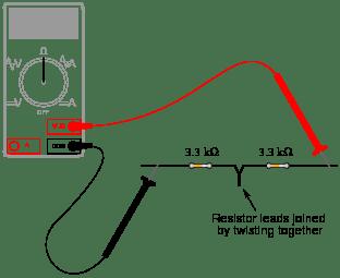 Series DC circuits : Worksheet