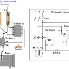 Contactor And Overload Wiring Diagram Single Phase 89 Cherokee Radio Ac Motor Control Circuits : Worksheet