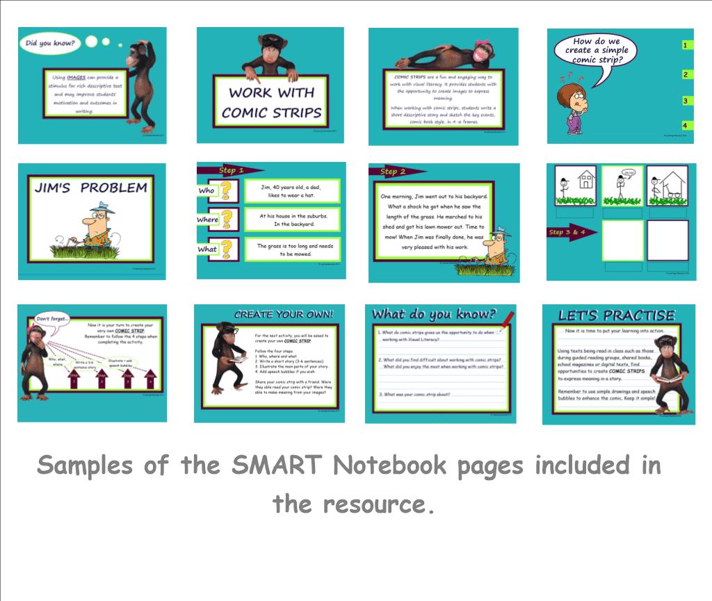 Visual Literacy Comic Strips Writing Year 3 Amp 4