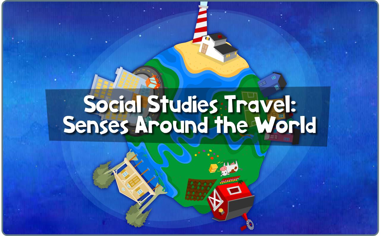 Preschool Science Learning Game Senses Around The World