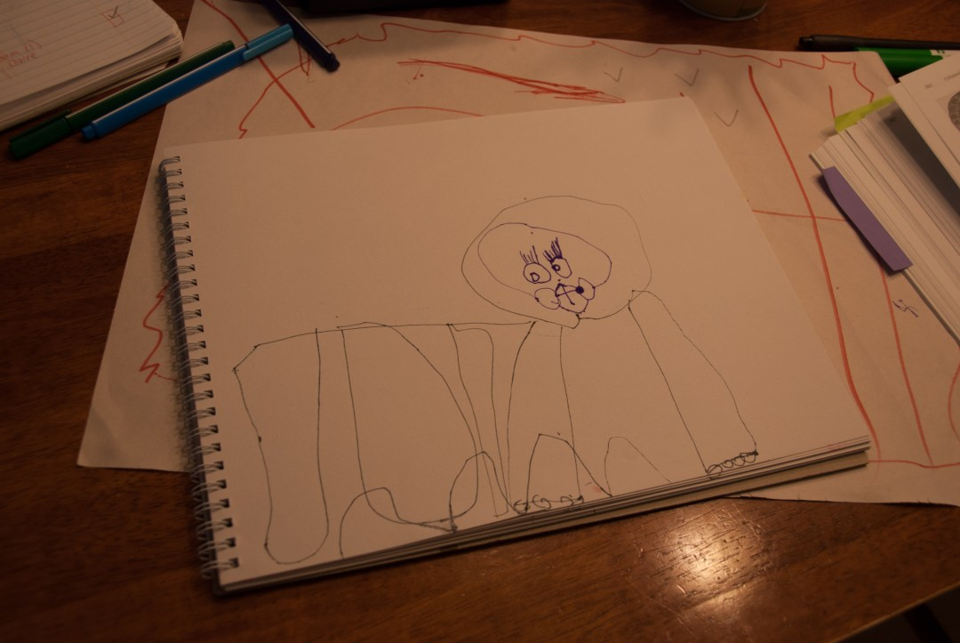 Drawing With (My) Children: Lesson 2 LIONS! - www.learningmama.com