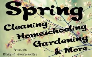 Blogging Homeschoolers Spring Link Up