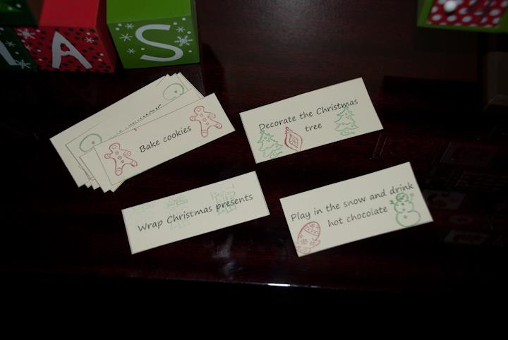 Christmas Traditions - Advent Activity Calendar - a Christmas themed activity for each day!