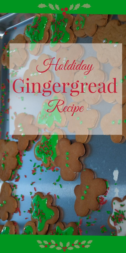 Best Ever Gingerbread Recipe - enjoy making these delicious cookies with your kiddos this season!