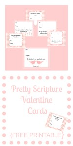Pretty Scripture Valentine Cards {FREE PRINTABLE}