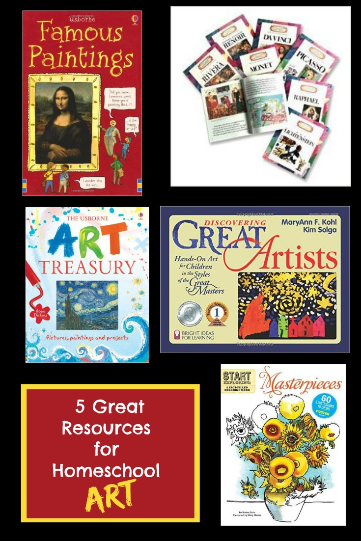 Homeschooling Art Without a Curriculum! Picture study is an excellent way to cover art without an expensive curriculum. All you need are a few carefully chosen resources and your library card!