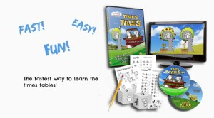 Learn the multiplication tables the fastest, easiest way!