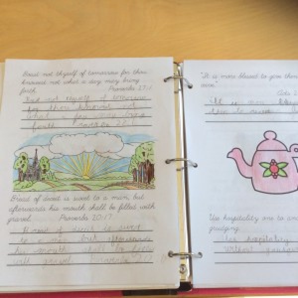 Copywork - a valuable tool for building strong writing skills starting with your youngest students