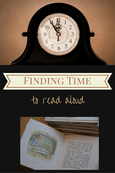 More of a Good Thing: Finding Time to Read Aloud