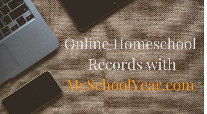 Online Homeschool Records with My School Year {Review}