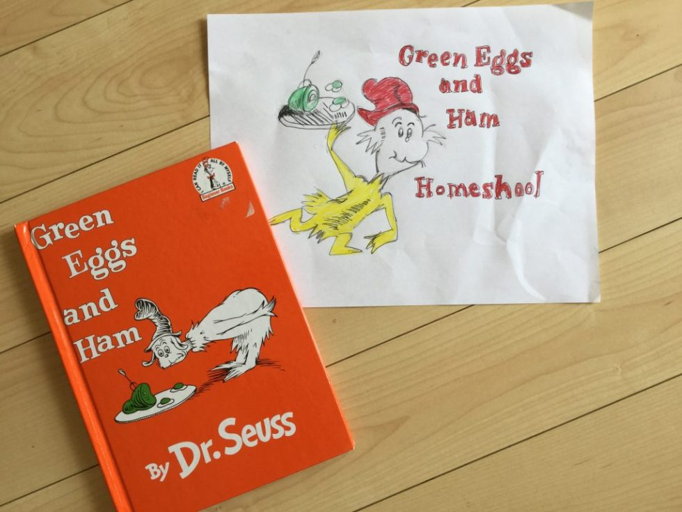 Green Eggs and Ham Homeschool!
