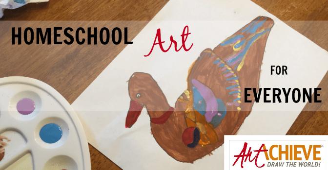 Homeschool Art for Everyone! All skill levels, no experience necessary! {ArtAchieve Review}