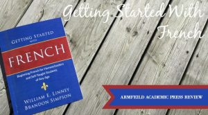 Getting Started with French {Review} - Getting Started with French is a great way to introduce French in the homeschool!