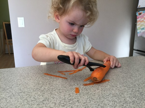 The Kid's Cook Real Food e-Course includes even my youngest children in our kitchen learning!