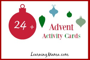 24+ Advent Activity Cards {FREE Printable}