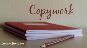 Copywork... a simple yet effective tool for building strong writers in the early years