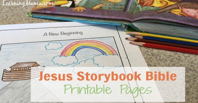 Jesus Storybook Bible Printable Pages