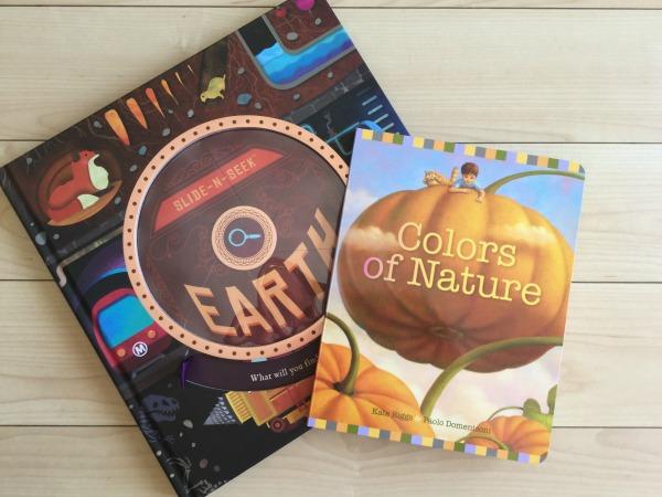 Slide-N-Seek Earth & Colors of Nature {Raincoast Books Reviews}