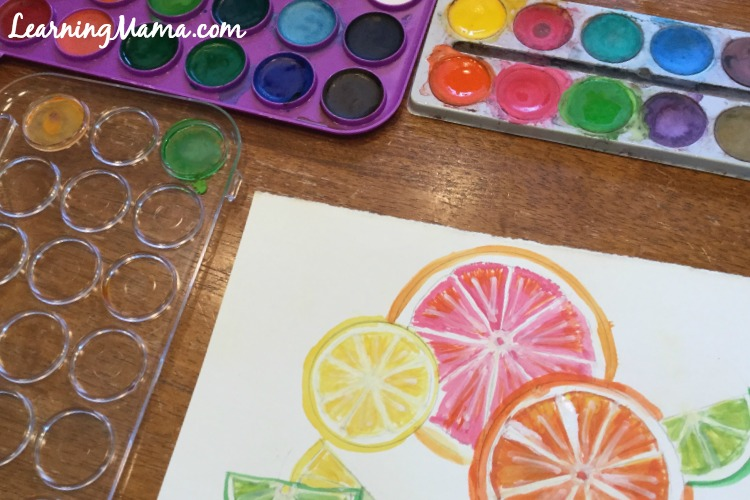 Celebrating Summer with Mixed Media Art