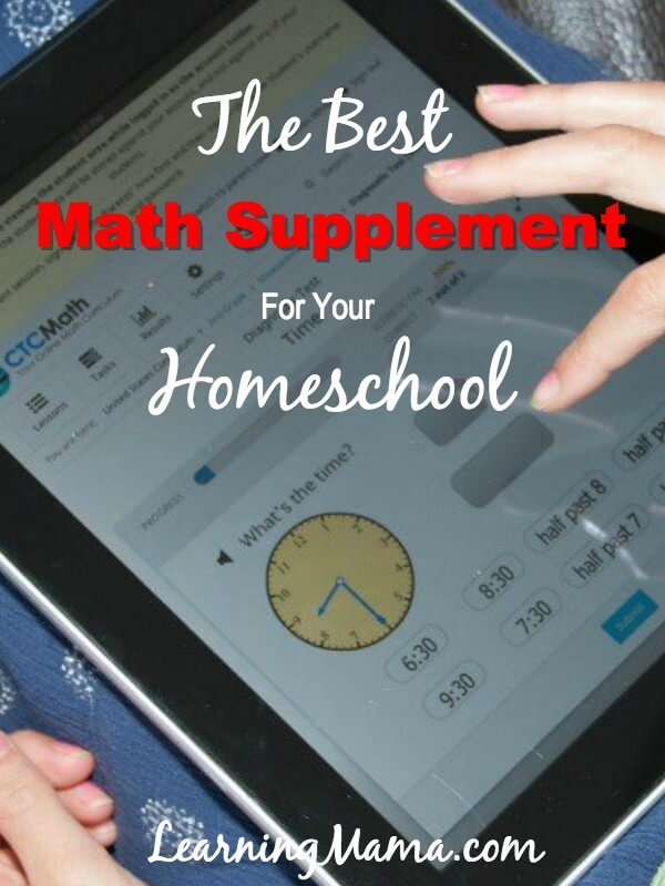 Get help with math in your homeschool with CTCMath
