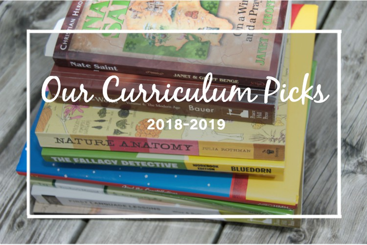 Our Relaxed Classical Homeschool Curriculum – 2018/2019 Picks!
