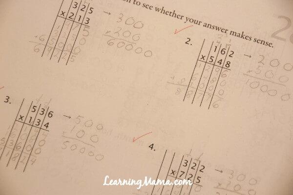 Math-U-See Worksheet