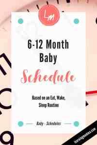 Baby Sleep Through The Night, Infant Schedule, Baby Schedule, Baby Nap Times, Baby Feeding