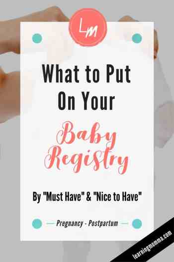 Baby Registry List, Must Haves for Baby Registry, Preparing for a new baby, Pregnant Moms