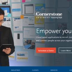 Cornerstone on Demand Talent Management Software