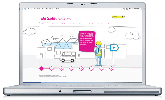 Britsafe Moodle for the London Olympics