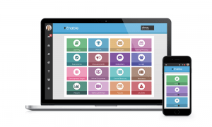 The Enable learning management system dashboard