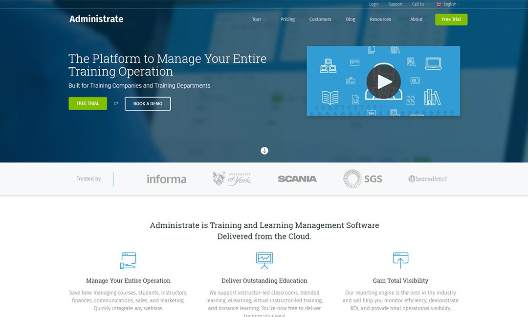 Administrate LMS