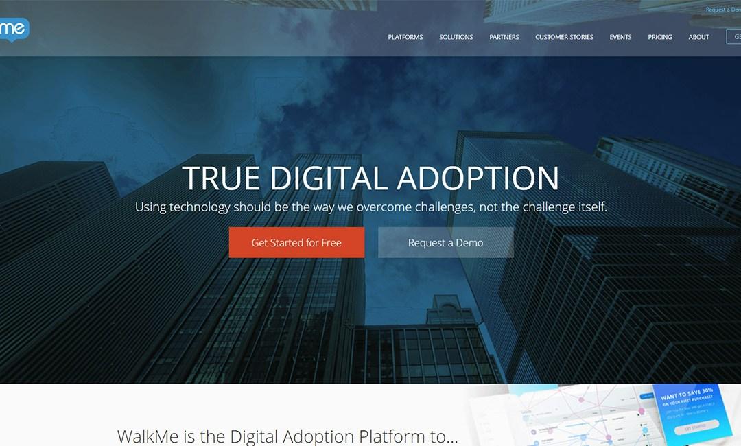 WalkMe Digital Adoption Platform