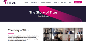 Titus Learning company overview