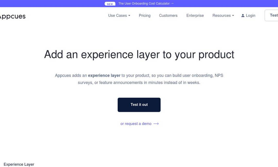 Appcues – Software User Onboarding & Retention Platform