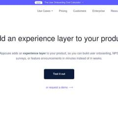 Appcues – Software User Onboarding & Retention Platform