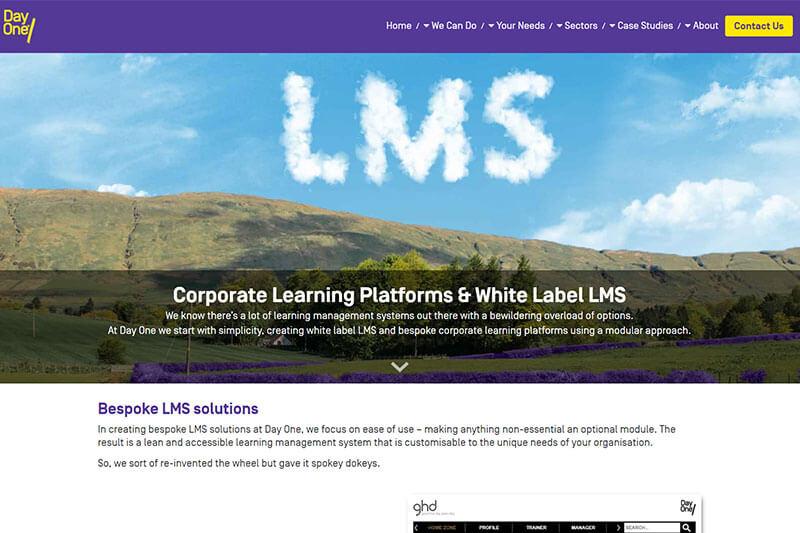 Day One custom LMS
