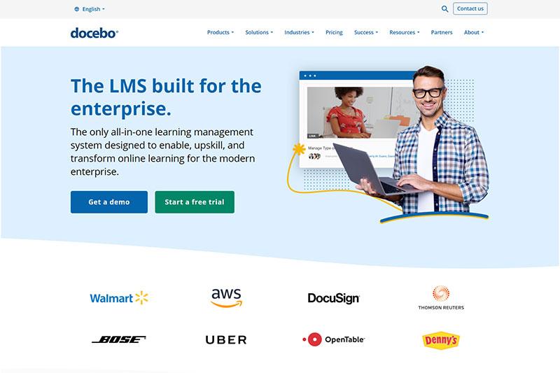Docebo training platform
