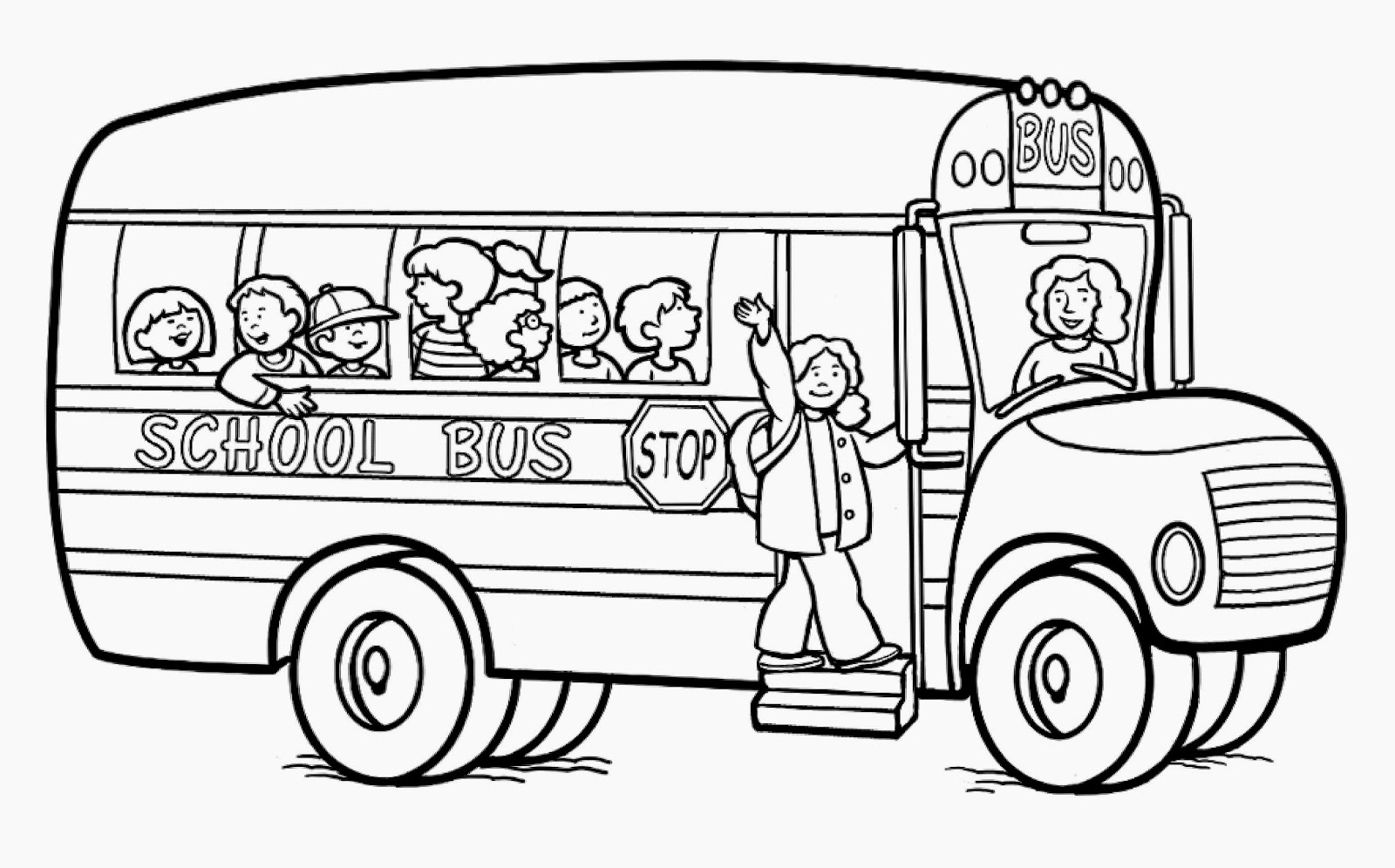 Elementary school coloring pages fun