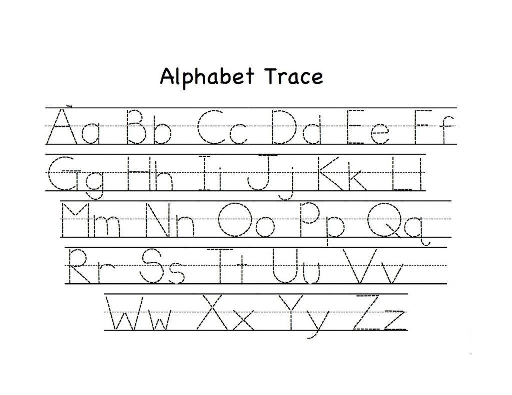 Abc Tracing Activity Sheets