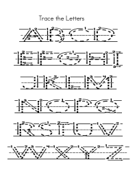 Capital Alphabets Tracing Worksheets Printable | Learning ...