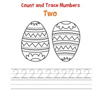Number 2 Tracing Worksheets | Learning Printable