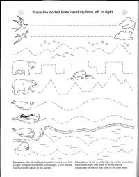 Printable Line Worksheet for Kindergarten | Learning Printable
