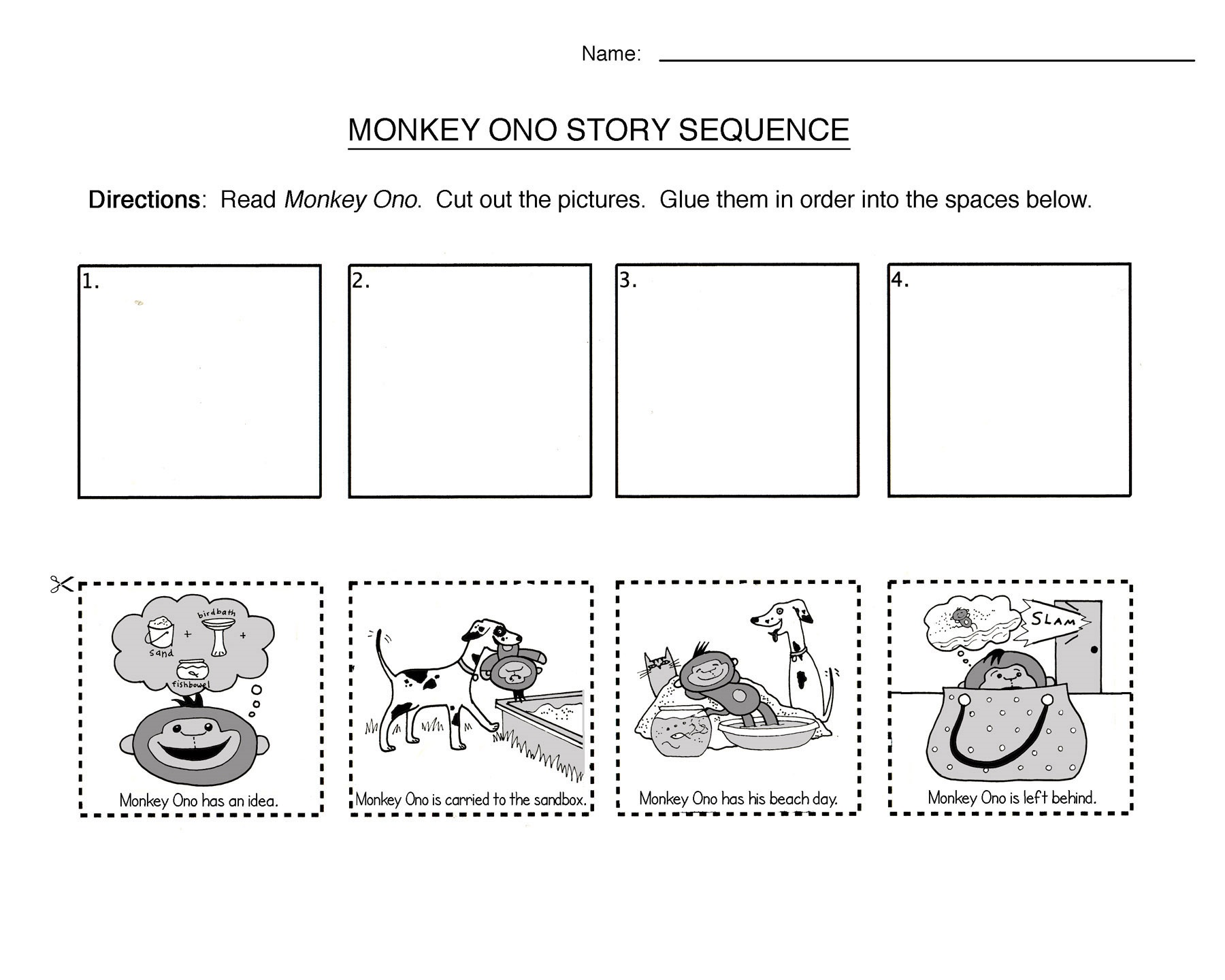 Printable English Worksheets For Kids