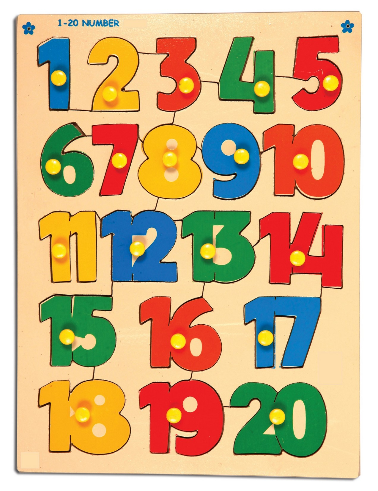Numbers 1 20 Printable For Kids