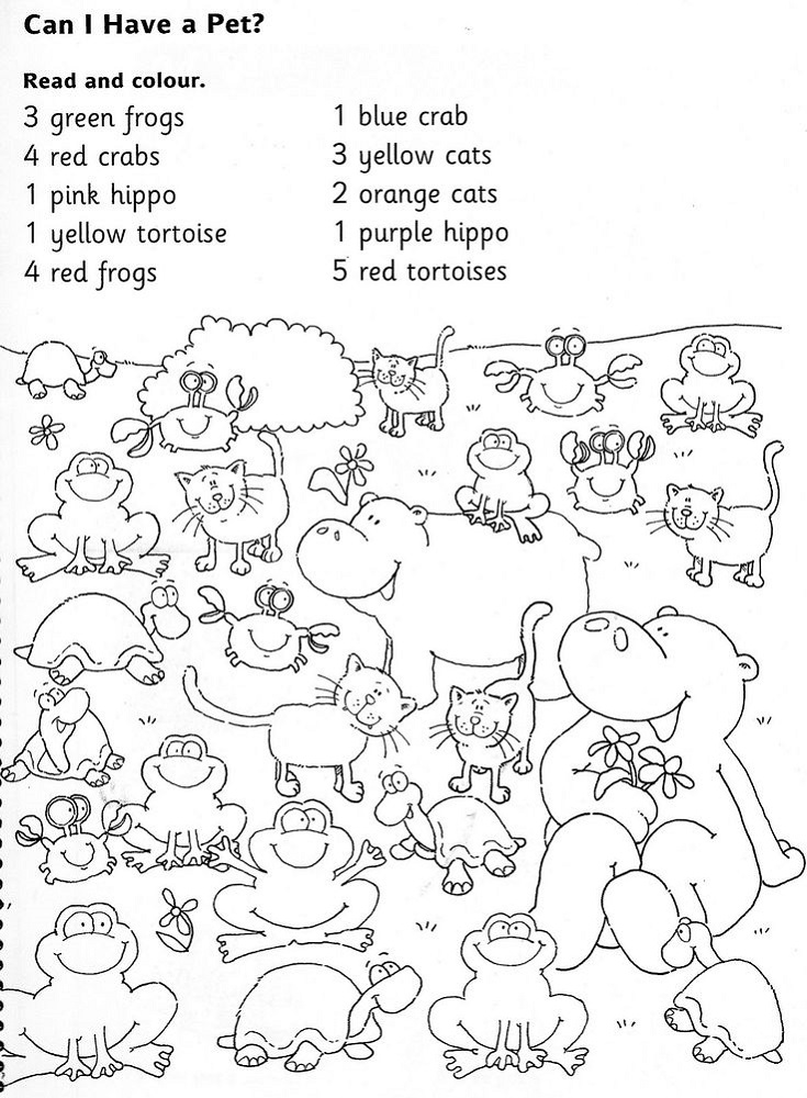 Color Activities for Kindergarten for Color Recognition