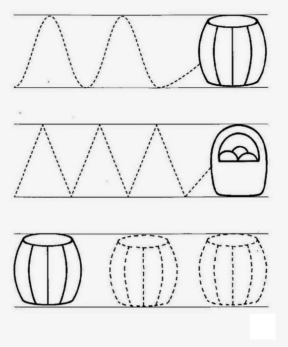 Educational Activities for 3 Year Olds Printable